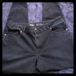 Dark wash mossimo jegging
